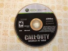 Call of Duty: World at War (Microsoft Xbox 360, 2008) - DISC ONLY