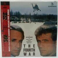 Japan LD Laserdisc THE FOURTH WAR Obi Movie Pioneer LD5