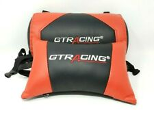 GTRacing Gaming Chair Replacement Headrest and Back Pillows Red & Black
