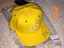 Lewis Hamilton Cap 2015 Brazil Barsilien SIGNED Autograph Signiert Autogramm ***
