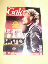 JOHNNY HALLYDAY GALA N°523 juin 2003