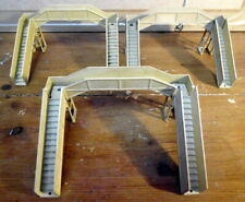 Hornby Dublo Meccano Metal Model Railway OO Gauge Platform Station Bridge X3