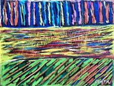 CORPORA Antonio, Senza titolo. Pastello originale a olio firmato. Cm 50x65