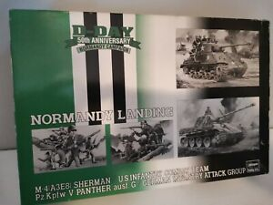 Boîte maquette Hasegawa Normandy landing D-day soldats figurines 1/72