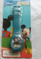 DISNEY CHANNEL MICKEY MOUSE CLUBHOUSE LCD CHILD'S  WATCH NEW ORIGINAL PACKAGING