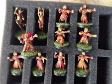 Elfos de madera Blood Bowl Team Warhammer Games Workshop Wardancers Glade Guardia GW
