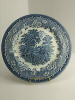 """EIT English Ironstone Kingswood Blue 10 1/2"""" Dinner Plate Replacement (6A2)"""