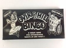 Over The Hill Bingo Game Novelty Gag Gift Party Game 1992 Forum Novelties Sealed