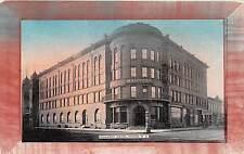 A79/ Fargo North Dakota Nd Postcard 1909 Waldork Hotel Building 3