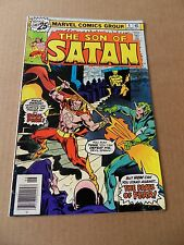Son of Satan  4 .  Sonny Trininad  - Marvel 1976 - FN +
