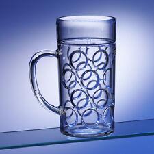 Unbreakable Polycarbonate Two Pint German Beer Stein 1.3L (45.75oz)