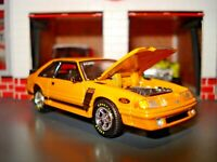 1988 FORD MUSTANG GT 5.0 FOX BODY LIMITED EDITION COUPE M2 1/64 BOSS 302 CUSTOM