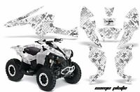Can am RENEGADE 800 800R 800X graphics deco kit digital camo black white gray