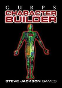 SJG GURPS 1st-3rd Ed Character Builder CD-ROM (Version 3.0) NM