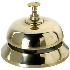 Solid Brass Reception Shop Desk Top Bell