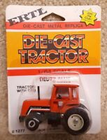 ERTL 1/64 Scale Diecast Deutz- Allis Chalmers 8070 Tractor With Cab #1277