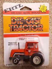 ERTL 1/64 Scale Diecast Deutz- Allis Chalmers 8070 Tractor With Cab #1277