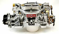 Edelbrock Marine Carburetor 600 CFM Electric Choke #1409 Factory Remanufactured