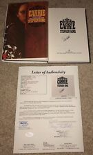 STEPHEN KING SIGNED CARRIE HARDCOVER BOOK AUTHOR MOVIE SHINING IT JSA