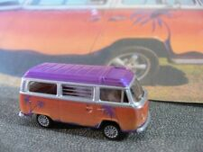 1/87 Brekina VW T2 Bus Sonnenuntergang Dach lila Sondermodell Hot Bulli
