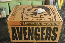 MARVEL COLLECTOR CORPS AVENGERS BOX AVENGERS COMIC BOOK, ULTRON DORBZ & MORE