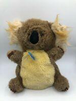 Vintage 1983 R Dakin & Co Koala Bear Hand Puppet Plush Kids Stuffed Toy Animal