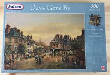 FALCON Days Gone By Jigsaw Puzzle 500 Pieces Street Scene At Dusk by P.Bradshaw