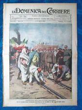 La Domenica del Corriere 4 aprile 1920 Tripoli-Zuara - Croydon - Marina