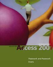Microsoft Office Access 2007: Introductory, Pasewark Pasewark, New Book