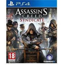 Assassin's Creed Syndicate PS4 Game for Sony PlayStation 4 NEW & SEALED