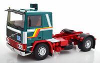 Volvo F12  grün / weis Lkw AUF ACHSE LKW Sattelzug Road Kings Orient Transporte