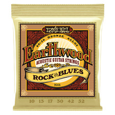 Ernie Ball Earthwood 2008 Rock and Blues Acoustic Guitar Strings Free US Ship!
