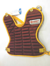 Schutt Sports Catcher Chest Protector womens/girls Scp_Wcx Nwt Burgundy/Yellow
