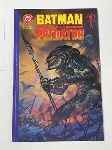 Batman Vs Predator Prestige 1 Of 3 Predator Cover DC/Dark Horse Comics