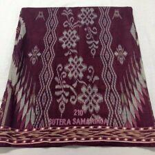 Batik Sarong Indonesia Tradition unisex Muslim Textile Cotton Wrap Freeshipping