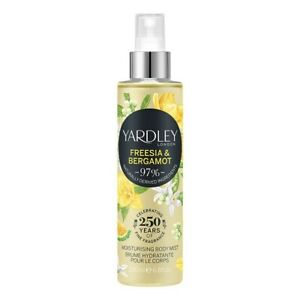 Yardley Freesia & Bergamot Fragrance Body Mist 200ml