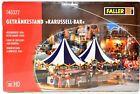 FALLER Roundabout Carousel Refreshment Kiosk HO Scale #140322 NIP Germany F004