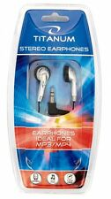 In-Ear Stereo Headphones Earphones Ideal For Phone, TV, Radio, MP3/MP4 - Silver