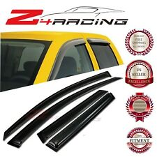 For 10-13 Mazda Mazda3 Hatchback Vent Shade Guard Window Visors Deflector Smoke