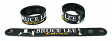 Bruce Lee  Rubber Bracelet Wristband Free Shipping Legend Chinese Dragon aa245