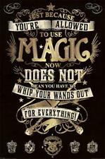 Harry Potter Magic Quote Poster 24x36 Inch Poster 36x24