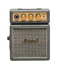 MARSHALL MS-2C Mini Micro Batería práctica Amplificador De Guitarra