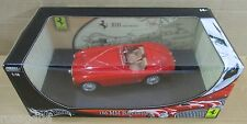 Hot Wheel Ferrari 166 MM Barchetta Millemiglia Convert Red Car Die-Cast 1:18 NEW