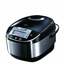 Russell Hobbs Healthy Cooking Multicooker 5L Stainless Steel Silver and Black