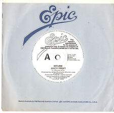 "MTUME - JUICY FRUIT - RARE PROMO 7"" 45 VINYL RECORD 1983"