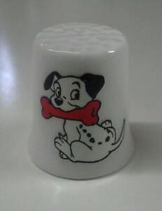 Up4Bid 101 Dalmatians Collectible Porcelain Thimble