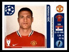 Panini Champions League 2011-2012 - Nemanja Vidic Manchester United FC No. 143