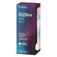 ROGAINE FOAM FOR WOMEN TOPICAL AEROSOL 2 MONTH SUPPLY 5% MINOXIDIL HAIR REGROWTH