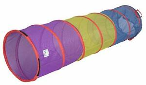 Pacific Play Tents Kids 6 Foot Diameter Institutional See-Thru Multi Color Pa...