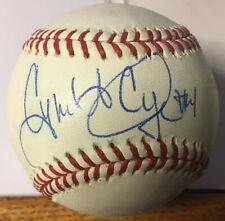 Cynthia L Cooper WNBA Autographed Baseball